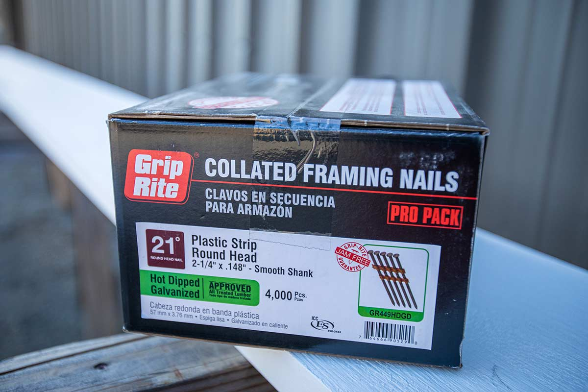 Collated Framing Nails