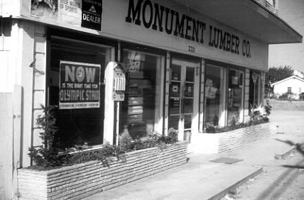 Monument Lumber since 1952