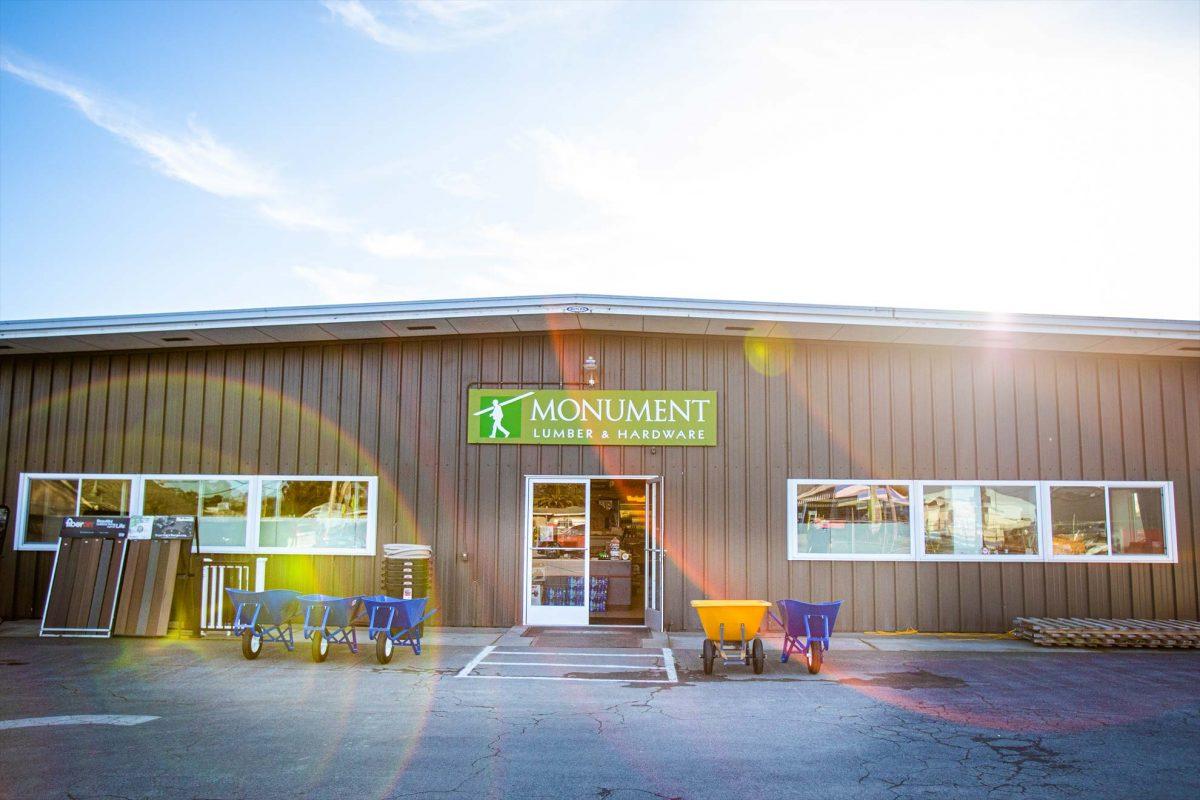 Monument Lumber - Storefront