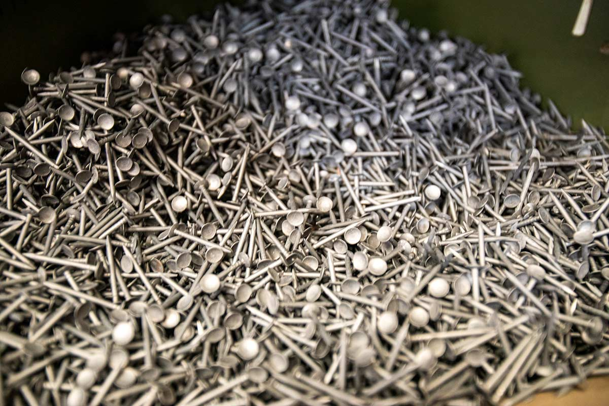 Monumental Pile of Nails